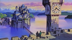 A scene from The Castle of Cagliostro