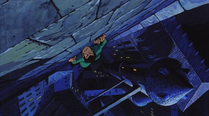 A scene from The Castle of Cagliostro