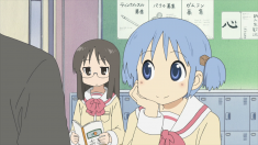 Mio is satisfied