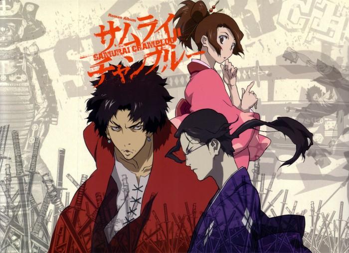 Samurai Champloo Roman Album cover artwork