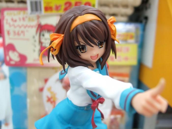 Haruhi Suzumiya 涼宮ハルヒ figurine