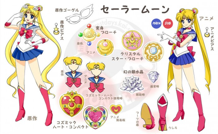 Sailor Moon fan art