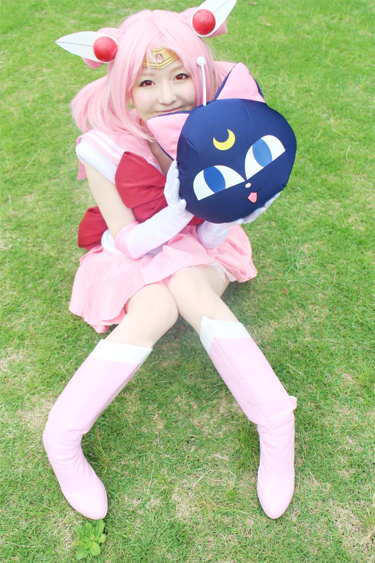 Chibiusa (ちびうさ) cosplay from Japan 美少女戦士セーラームーン ちびうさ(セーラーちびムーン)(変 ...