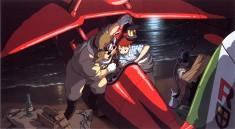 A scene from Hayao Miyazaki's Porco Rosso 紅の豚