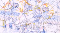 Animation layouts from Hayao Miyazaki's The Wind Rises (風立ちぬ)