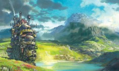 Artwork from Animated gif from Hayao Miyazaki film  Howl's Moving Castle