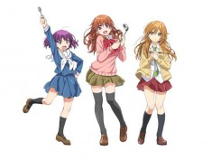 Characters from from Gourmet Girl Graffiti