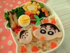 Crayon Shin-chan (クレヨンしんちゃん) bento
