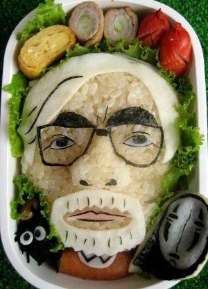 Hayao Miyazaki bento box