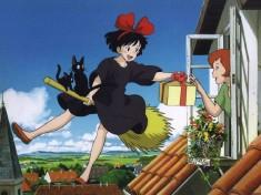 Hayao Miyazaki's 1989 film Kiki's Delivery Service 魔女の宅急便