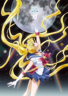 Japanese Sailor Moon reissued manga cover from 2014