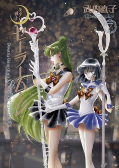Japanese Sailor Moon reissued manga cover from 2014 – volume 07