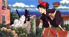 Like cats? Hayao Miyazaki's 1989 film Kiki's Delivery Service 魔女の宅急便