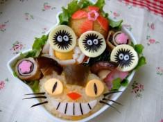 Miyazaki themed bento box