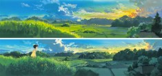 My Neighbor Totoro となりのトトロ background painting