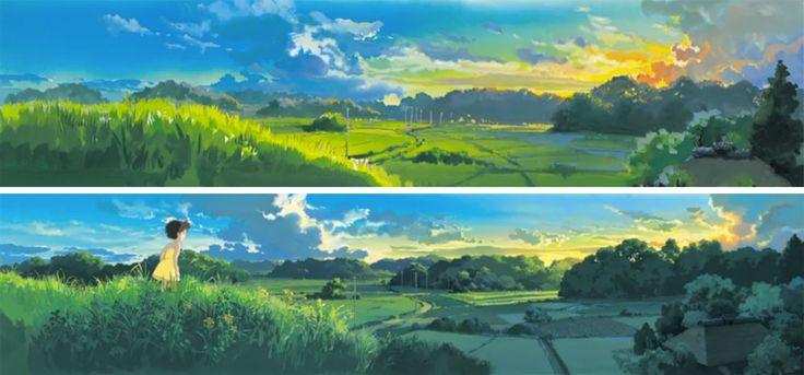 My Neighbor Totoro となりのトトロ background painting