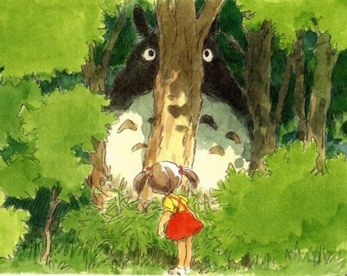 My Neighbor Totoro となりのトトロ preproduction art