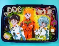 Neon Genesis Evangelion bento box