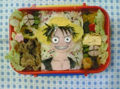 One Piece themed Bento Box