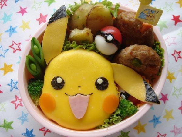 Pikachu Pokémon bento box