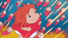 Ponyo (ポニョ) is s goldfish princess who wants to become human