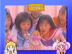 Sailor Moon toy commercial from 1994