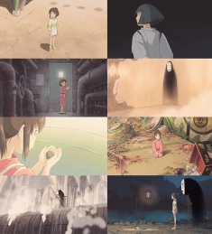 Scenes from Spirited Away 千と千尋の神隠し