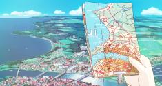 Screencap of Hayao Miyazaki's 1989 film Kiki's Delivery Service 魔女の宅急便