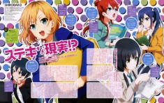Shirobako magazine spread