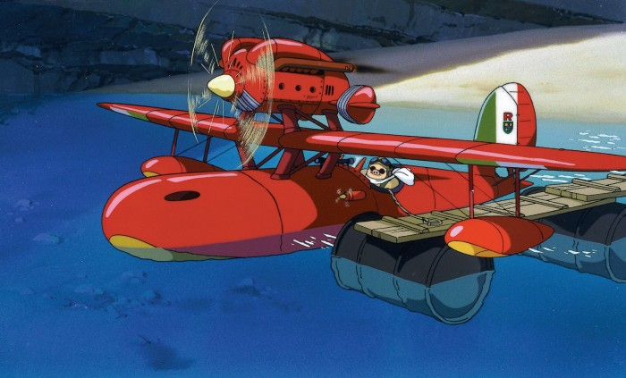 The plane from Porco Rosso 紅の豚