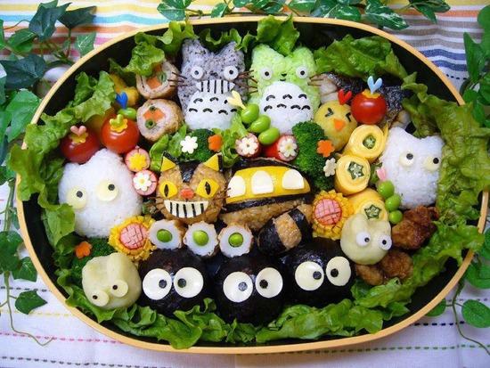 Totoro Bento Box