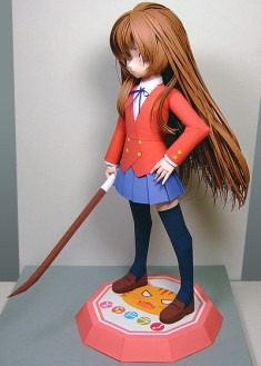 Anime Papercraft Figures: Toradora!