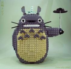 { となりのトトロ } A Lego Totoro!