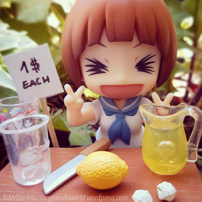 Wanna try my lemonade?