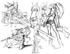 Tengen Toppa Gurren Lagann (天元突破グレンラガン) Character designer Atsushi Nishigori's (錦織敦 ...