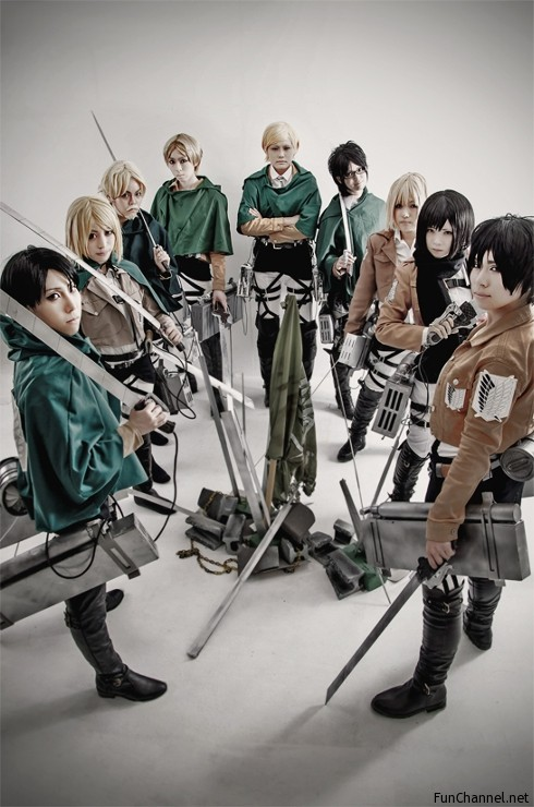 Attack on Titan Cosplay – Fun Channel Network