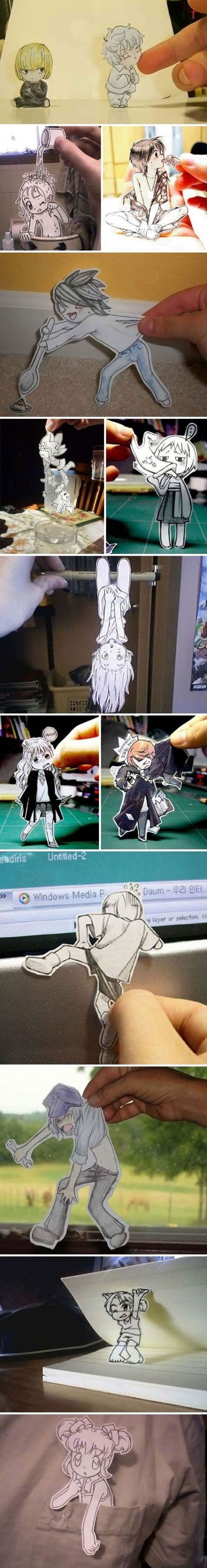 Anime Cut Outs