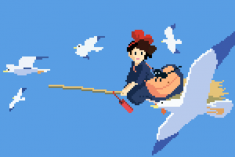 8 bit Kiki's Delivery Service (1989) by Richard J. Evans