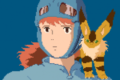 8-bit Nausicaä of the Valley of the Wind (1984)