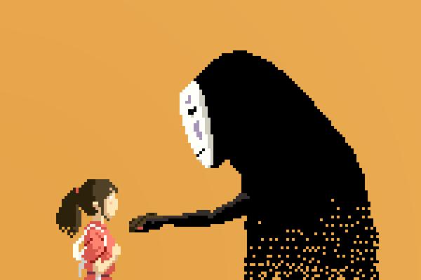 8-bit Spirited Away (2001)