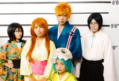 BLEACH cosplay: The Unusual Suspects by behindinfinity