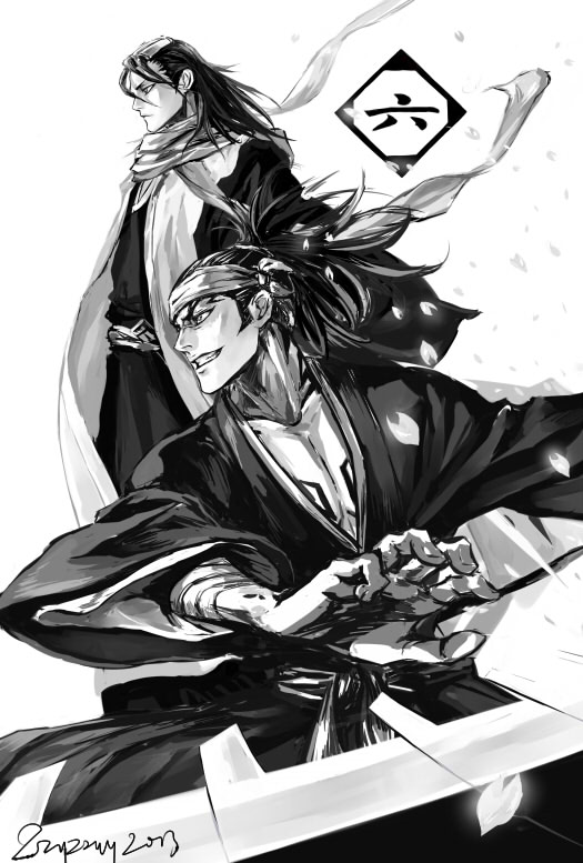 Bleach fan art ブリーチ
