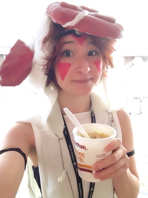 Princess RAMENoke!  Cosplay based up Princess Mononoke もののけ姫