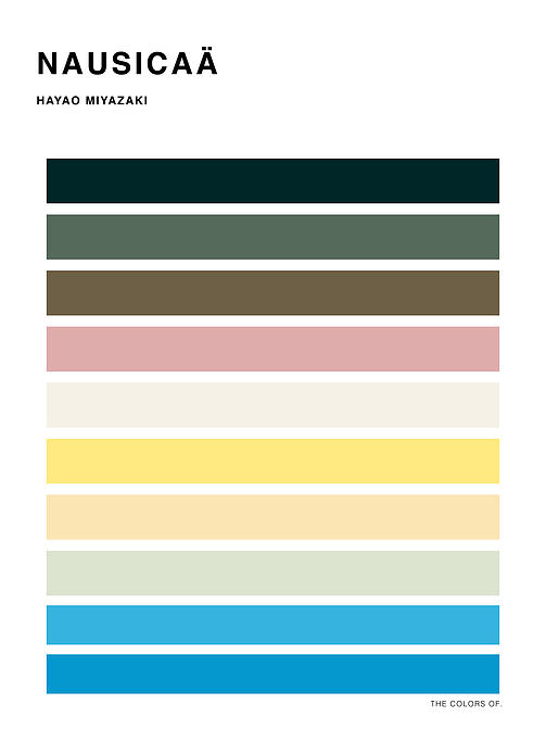 Can You Identify These Ghibli Films Only By Their Color Palette? | Spoon & Tamago