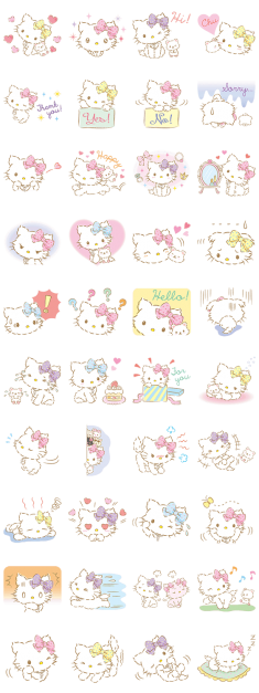 Charmmykitty (チャーミーキティ) stickers