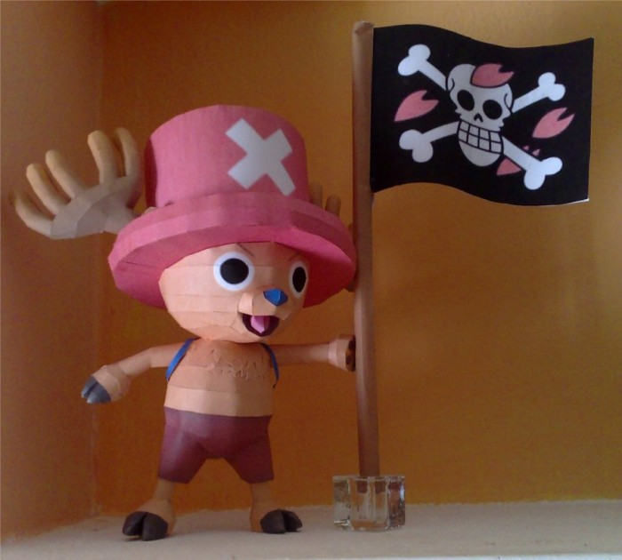 Chopper papercraft by LordBruco on DeviantArt