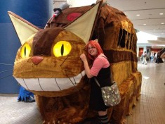 Cosplay in America's Photos: Catbus from My Neighbor Totoro. Built by Asiel Reset for Youm ...