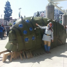 Cosplay in America's Photos: Ohmu from Nausicaä of the Valley of the Wind