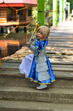 Cosplay Kids: Saber from Fate Stay Night