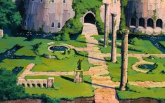 Some of the architecture seen in Castle in the Sky was inspired by a Welsh mining town. Miyazaki ...
